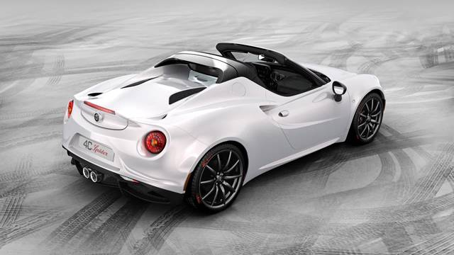 L'Alfa Romeo 4C Spider in video