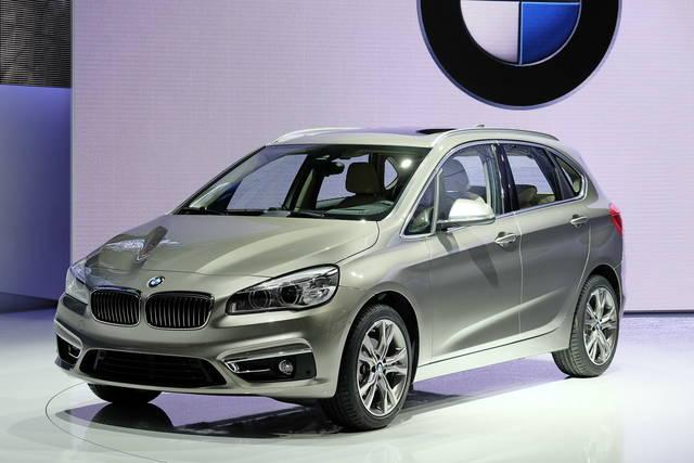BMW Serie 2 Active Tourer: la prima volta