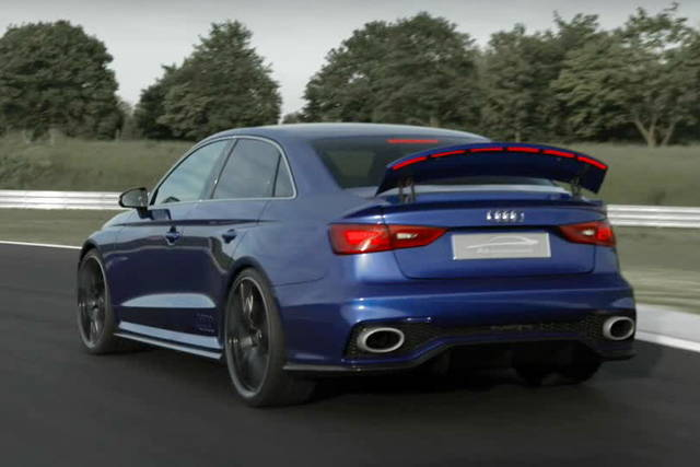 L'Audi A3 Clubsport Quattro Concept in video