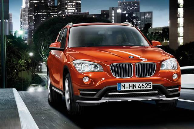 Nel 2015 la BMW X1 a trazione anteriore