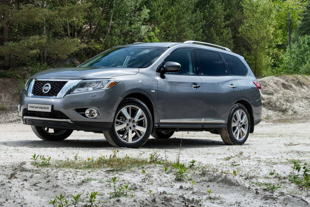 Nissan Pathfinder, from Russia with love