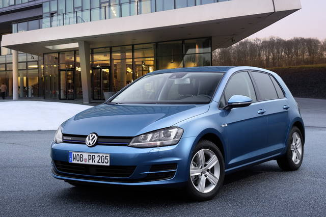 la vw golf a metano debutta in italia