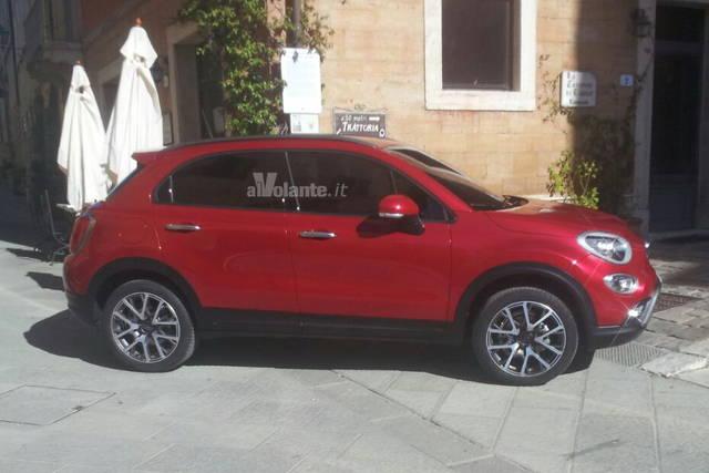 Fiat 500X: svelata dalle foto spia