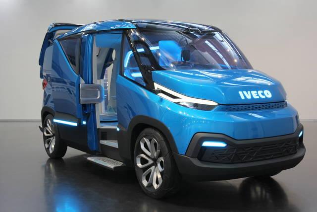 Iveco Vision il furgone del futuro