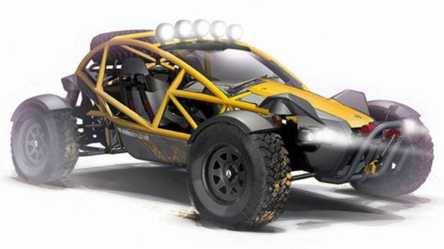 Ariel Nomad, superbuggy all'inglese