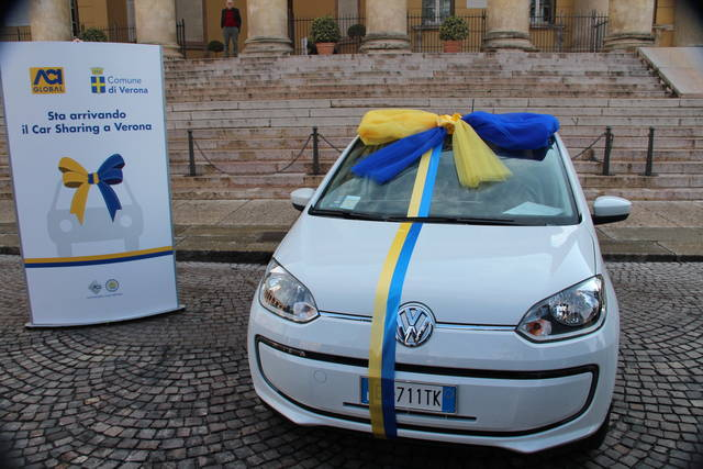 Parte da Verona il car sharing dell'ACI