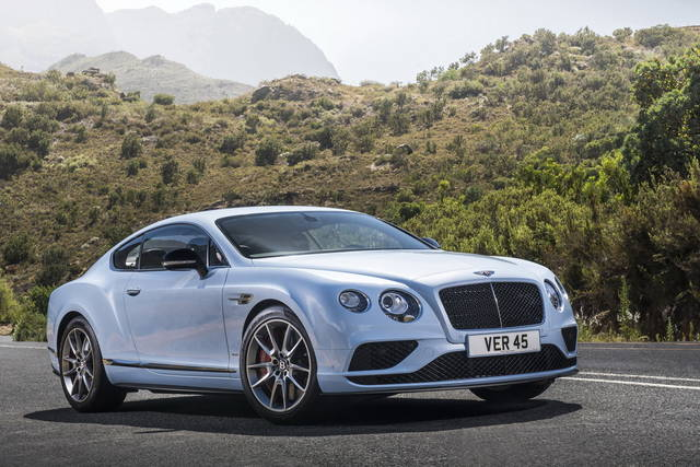 Bentley Continental GT: per lei  un leggero maquillage