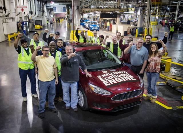 Ford: prodotti 5 milioni di motori EcoBoost