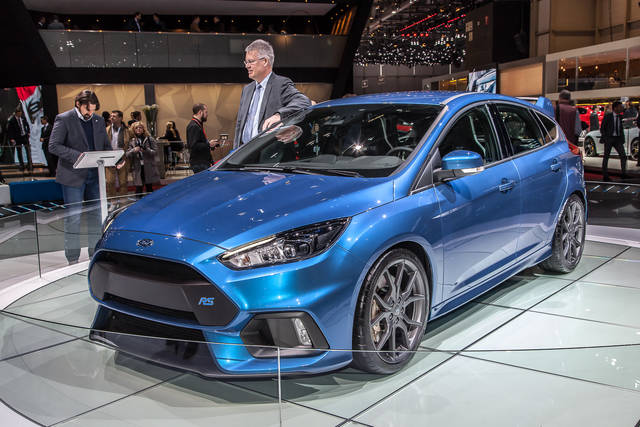 Ford Focus RS, muscoli bene in vista