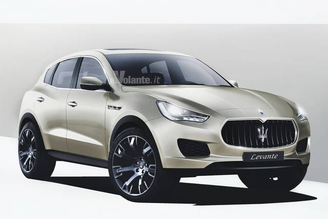 maserati levante la suv arriva nel 2015. Black Bedroom Furniture Sets. Home Design Ideas