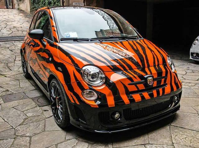 Abarth tiger l auto dell uomo tigre
