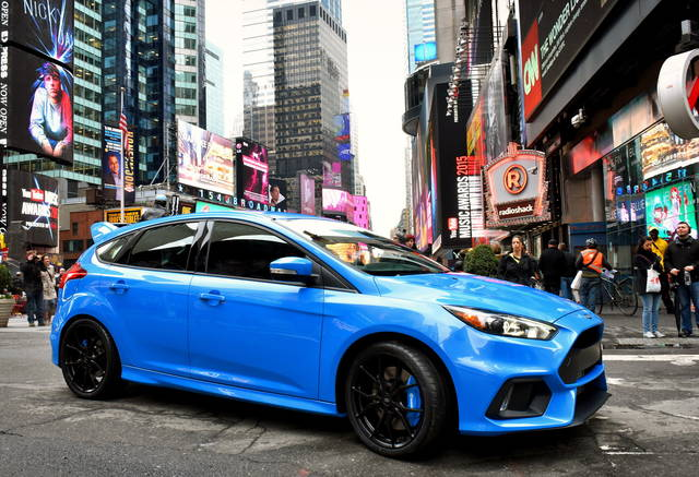 Ford Focus RS: pronta al debutto