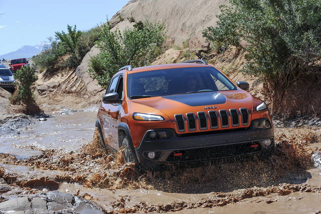 La Jeep Cherokee va all'avventura