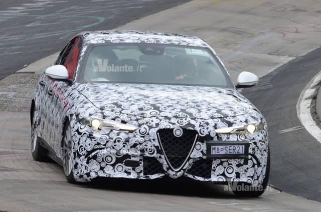 Alfa romeo giulia ecco la turbodiesel for Alfa romeo prossime uscite