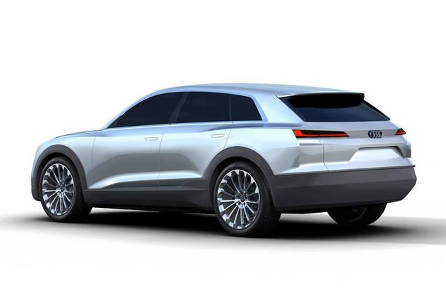 Audi Q6, prove di suv elettrica