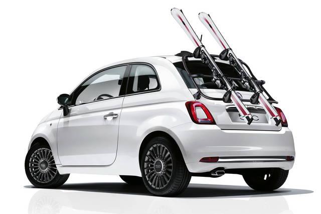 styles classiques chercher marque populaire Nuova Fiat 500: gli accessori della Mopar