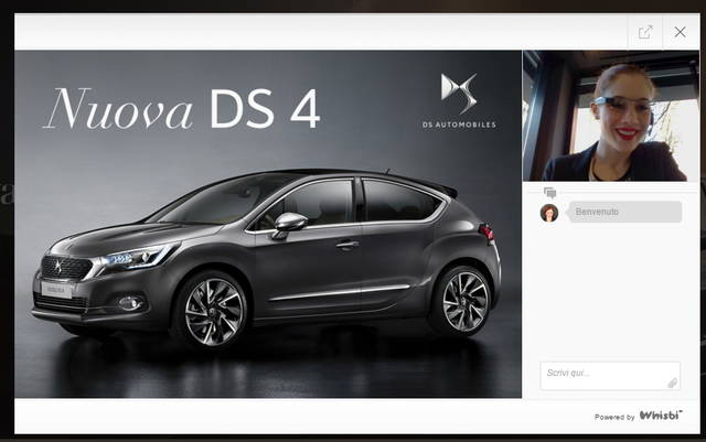 Per la DS4 lo showroom virtuale