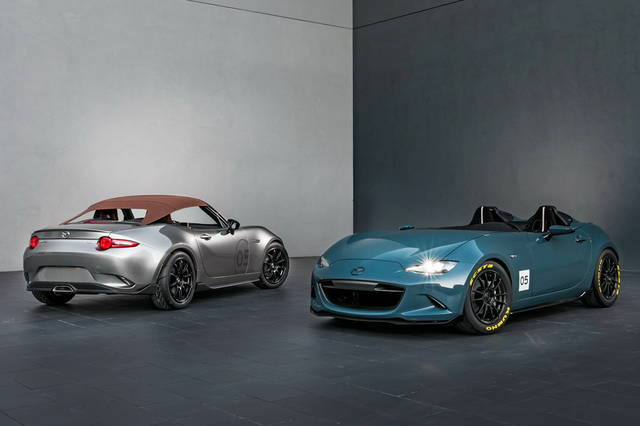 Mazda, due concept su base MX-5 al Sema