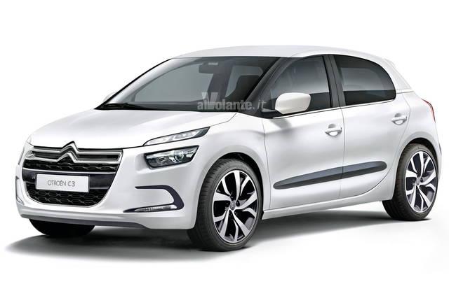 Citroën C3: nel 2016 sarà tutta nuova