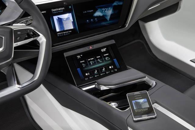 Audi: un pieno di multimedialità per il CES 2016
