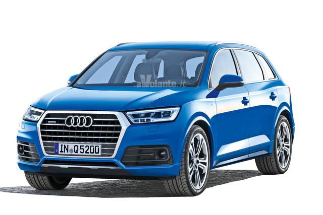 Audi Q5: nel 2016 più spigoli e meno peso