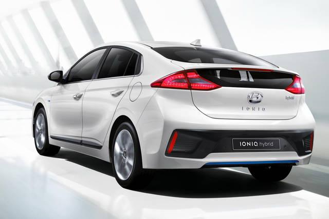 Hyundai Ioniq: le prime foto