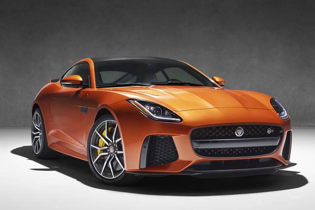 Trattamento SVR per la Jaguar F-Type