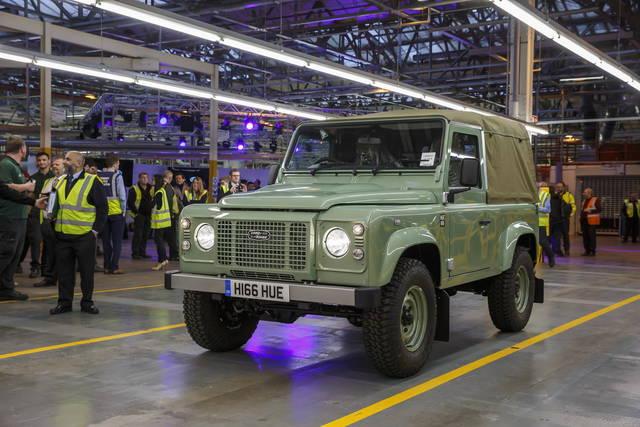 Esce di produzione la Land Rover Defender