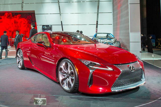Lexus LC 500: parliamo di tecnica