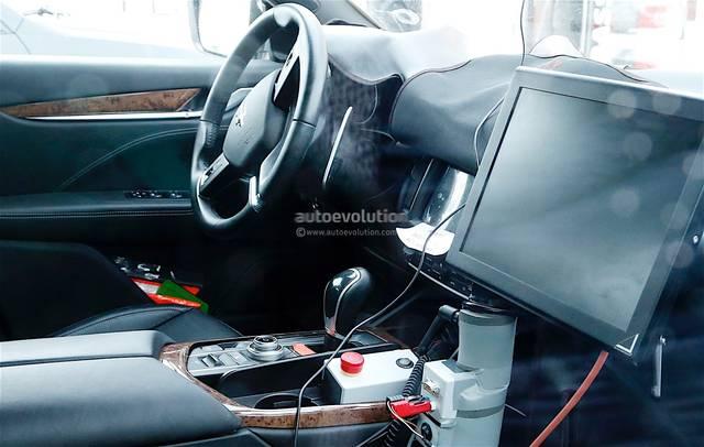 Maserati Levante La Foto Degli Interni
