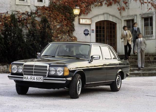 La Mercedes E W123 compie 40 anni