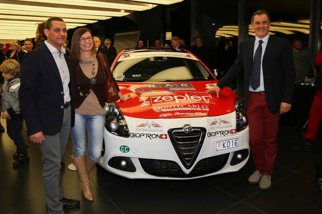 Mondiale FIA Energie Alternative: Liverani festeggiato in casa Alfa Romeo