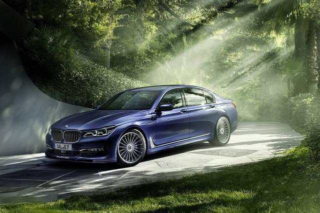 La BMW Serie 7 riceve le cure dell'Alpina