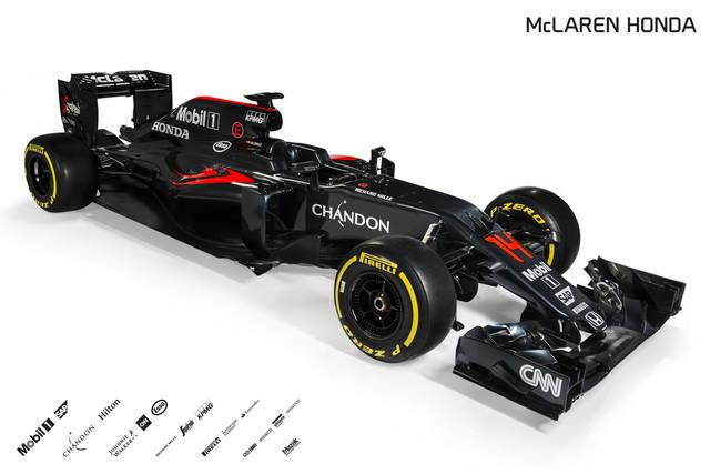Formula 1: presentata la McLaren per il 2016