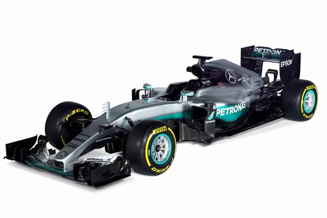 Formula 1 2016: annunciata la Mercedes W07