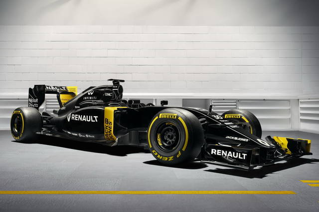 Formula 1 2016: presentata la Renault  RS16