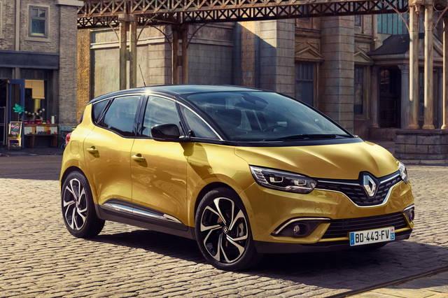 Renault Scénic: le prime immagini