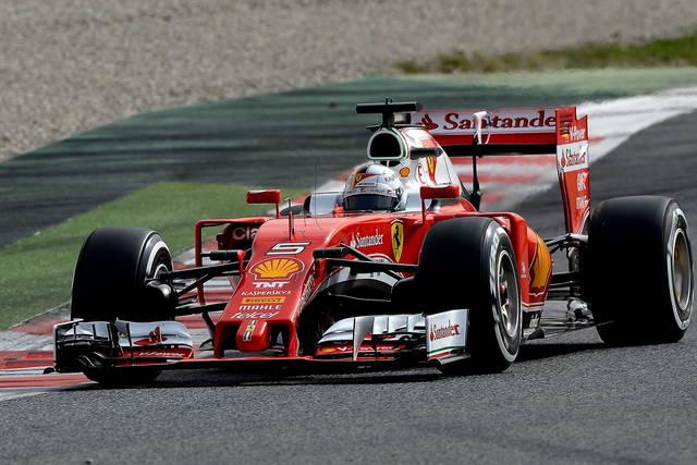 Formula 1 2016: test di Barcellona, primo giorno