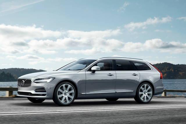 Volvo V90: la wagon diventa grande