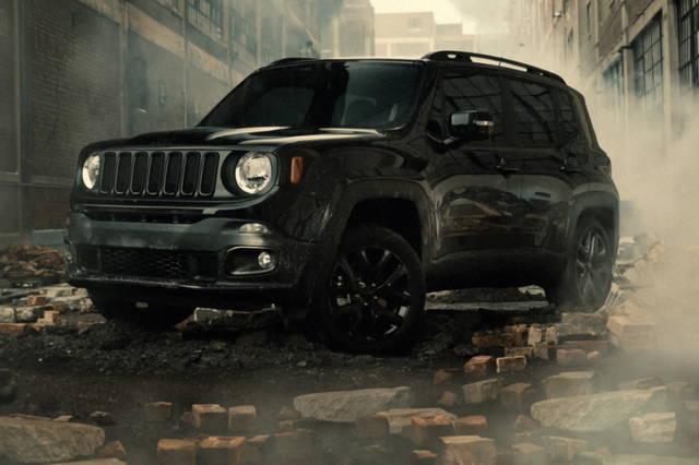 Una Jeep Renegade dedicata ai supereroi