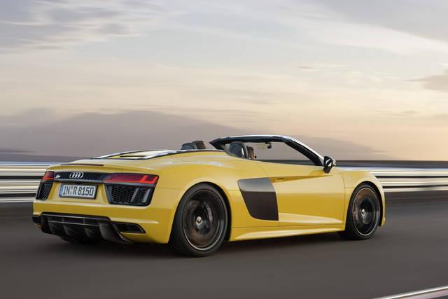 L'Audi R8 diventa Spyder