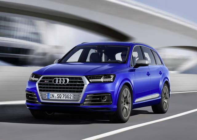 """Audi SQ7, 435 CV col turbo """"elettrico"""""""