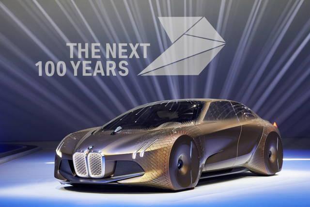 BMW Next 100: l'auto del futuro