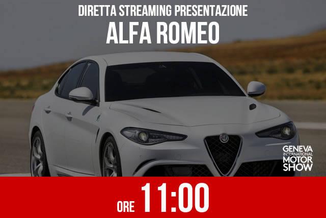 Ginevra 2016: la presentazione Alfa Romeo in diretta
