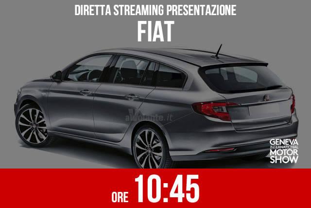 Ginevra 2016: la presentazione Fiat in diretta