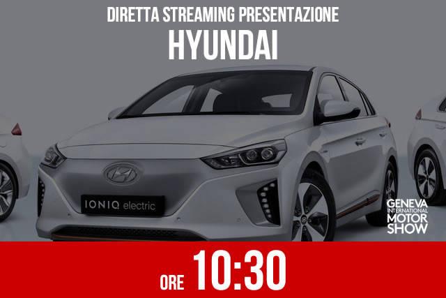 Ginevra 2016: la presentazione Hyundai in diretta