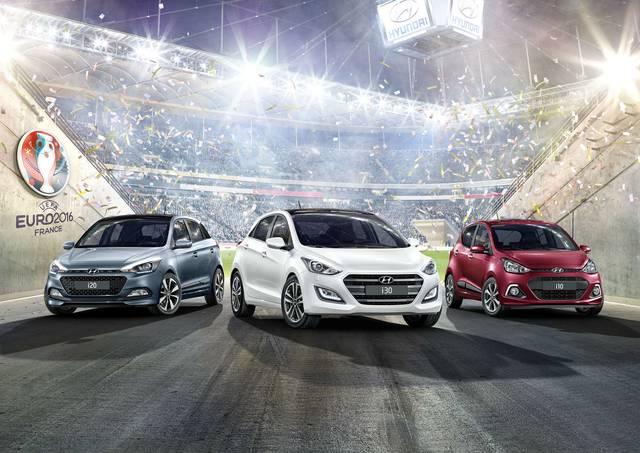 Dalla Hyundai le versioni per gli Europei di calcio
