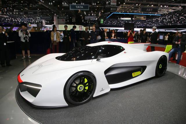 Pininfarina H2 Speed, per correre a emissioni zero