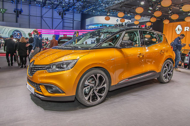 Renault Scénic: una bella presenza