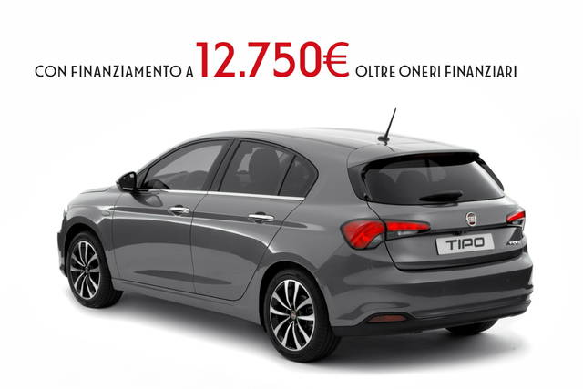 fiat tipo 5 porte in promozione da euro. Black Bedroom Furniture Sets. Home Design Ideas